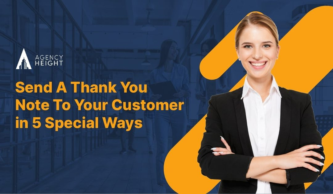 Sending Insurance Thank You Note To Customers in 5 Special Ways