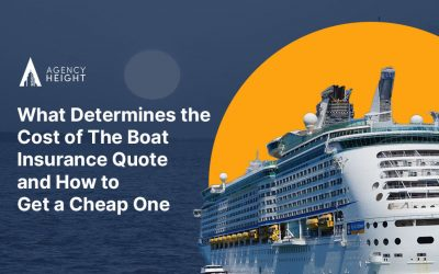 What Determines The Cost Of The Best Boat Insurance Quote And How To Get A Cheap One