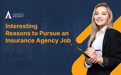 Interesting Reasons to Pursue an Insurance Agency Job
