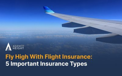 Fly High With Flight Insurance: 5 Important Insurance Types