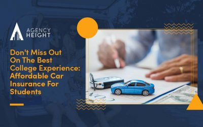 Don't Miss Out On The Best College Experience: Affordable Car Insurance For Students