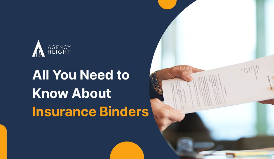 All You Need to Know About Insurance Binders